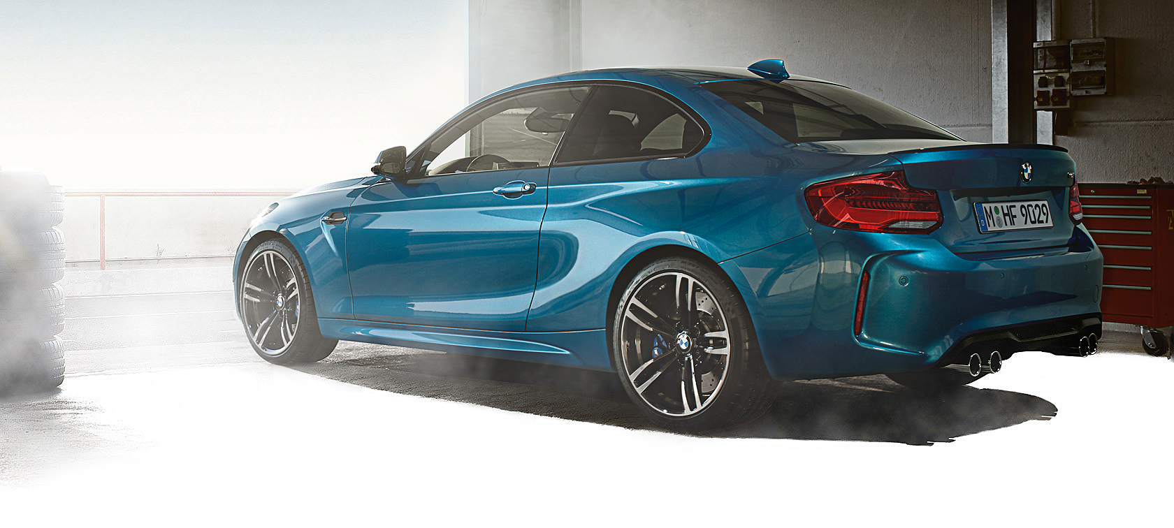 The design of the BMW M2 Coupé