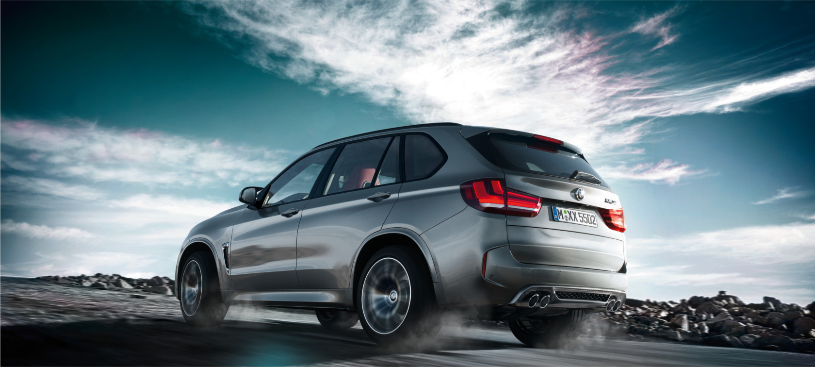 Driving Dynamics & Efficiency of the BMW X5 M
