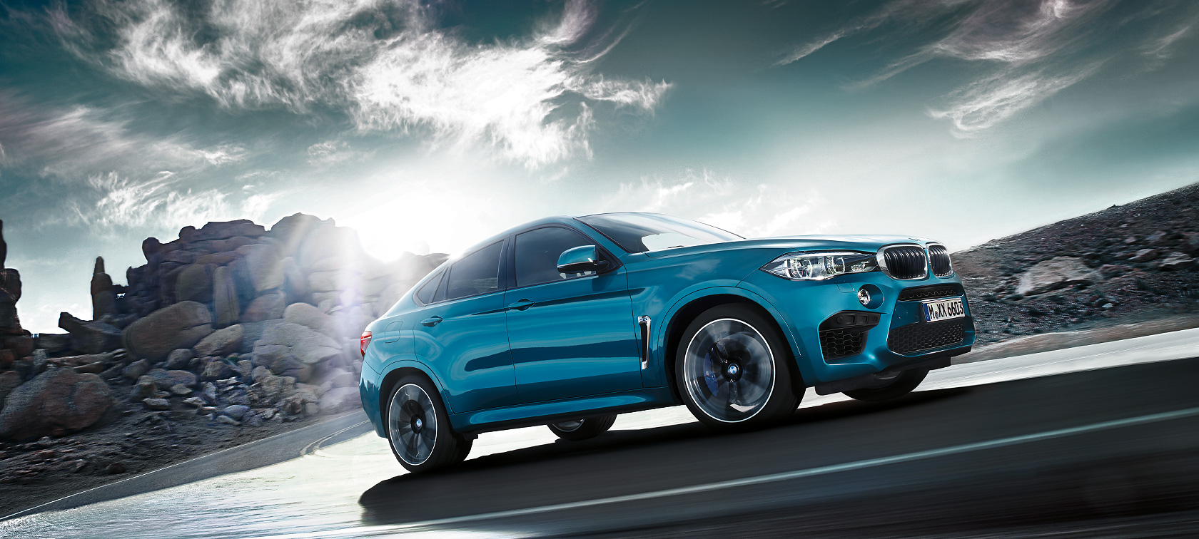 The captivating M design of the BMW X6 M