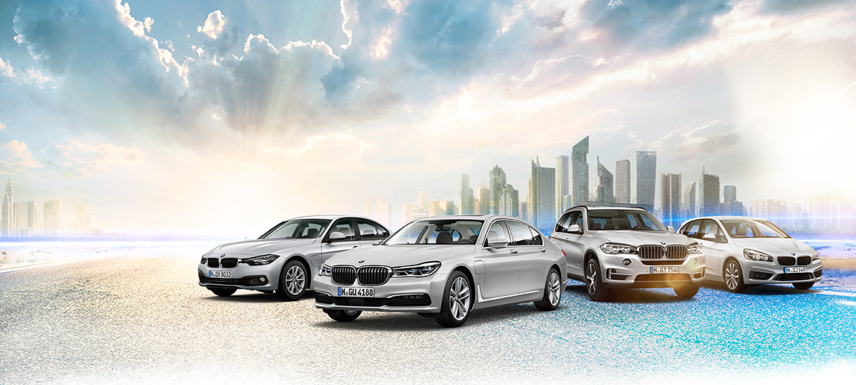 All models with BMW eDrive